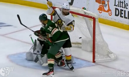 Golden Knights' Goal Lost to Interference, Failed Challenge