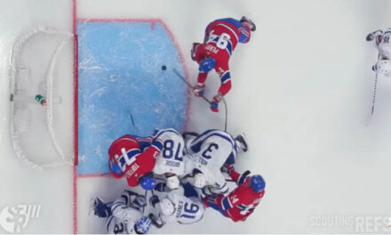 Canadiens Goal Stands After Review With Toffoli in Crease