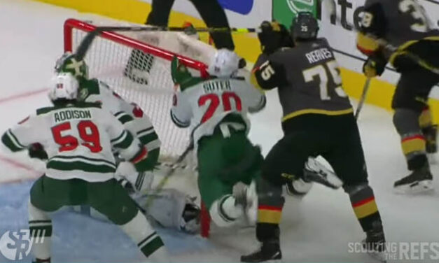 Golden Knights' Reaves Won't Face Further Discipline for Hit
