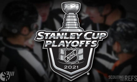 NHL Stanley Cup Playoff Referees and Linesmen for Round 2