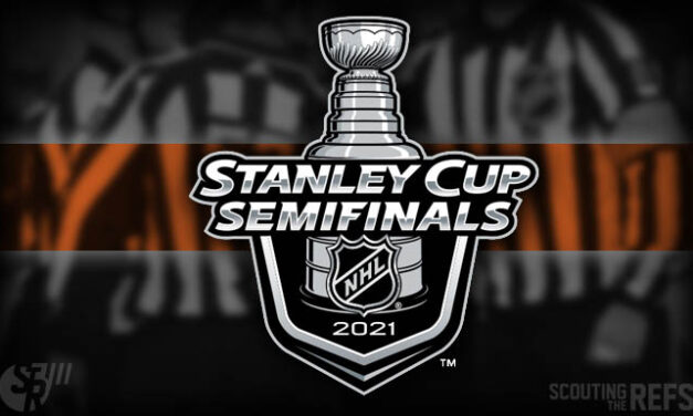 NHL Announces 2021 Stanley Cup Semifinal Referees and Linesmen