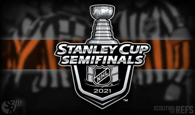 2021 Stanley Cup Semifinal Referees and Linesmen