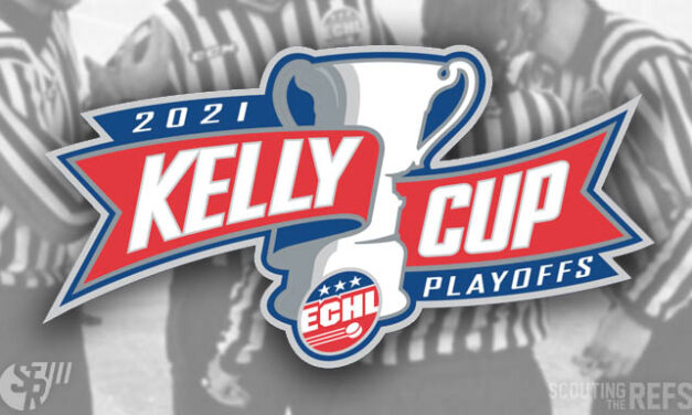 ECHL Names Referees & Linesmen for 2021 Conference Finals