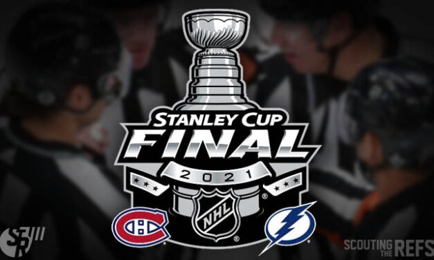 NHL Names 2021 Stanley Cup Final Referees and Linesmen