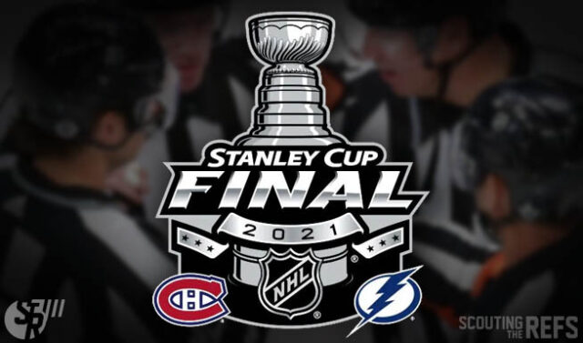 2021 Stanley Cup Final Referees and Linesmen