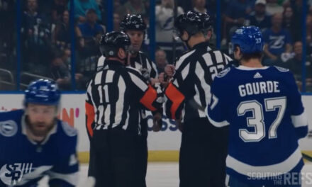 Refs Mic'd Up for Stanley Cup Semifinals