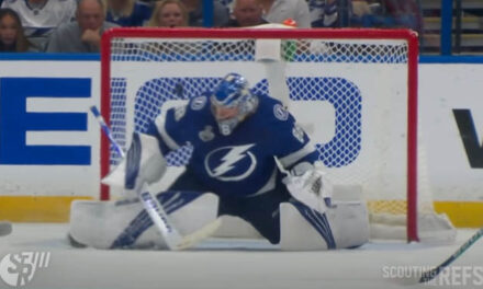 Under Review: Checking on Vasilevskiy's Goalie Gear