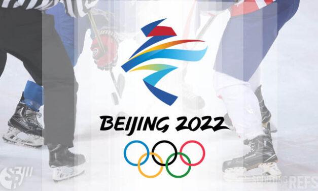 IIHF Officials for 2022 Beijing Winter Olympics Qualification