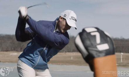 Referee Garrett Rank Advances at U.S. Mid-Amateur Golf Tournament
