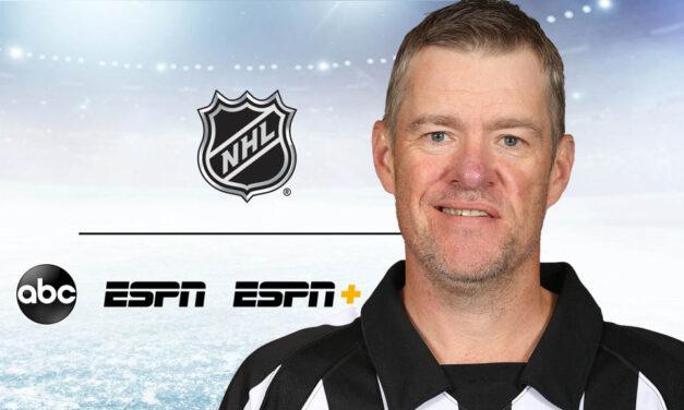 Referee Dave Jackson Joins ESPN NHL Broadcast Team