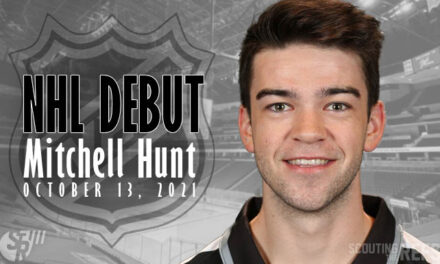 Linesman Mitchell Hunt to Make NHL Debut