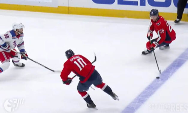 Caps' Goal Ruled Offside After Rangers Challenge