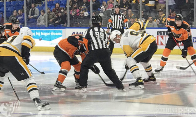 Referee Katie Guay Makes AHL Debut