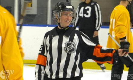 Referee Kelly Cooke Making AHL Debut Sunday in Utica