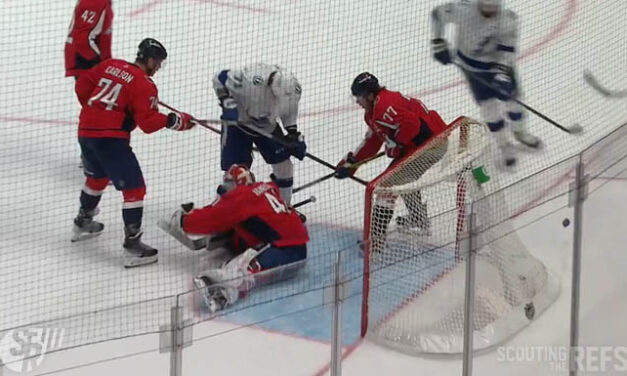Caps Successfully Challenge for Missed Stoppage vs. Lightning