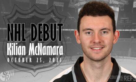 Linesman Kilian McNamara Making NHL Debut in Columbus